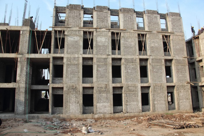 3-story student hostels