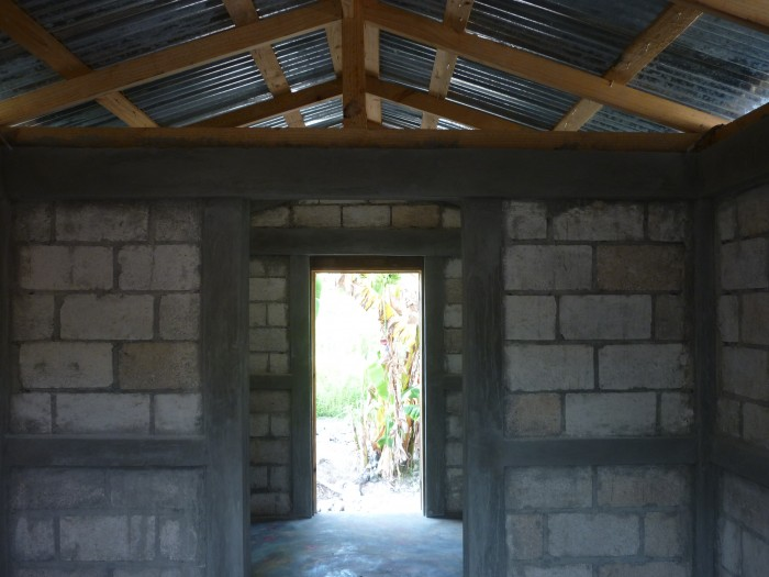 finished house in Haiti