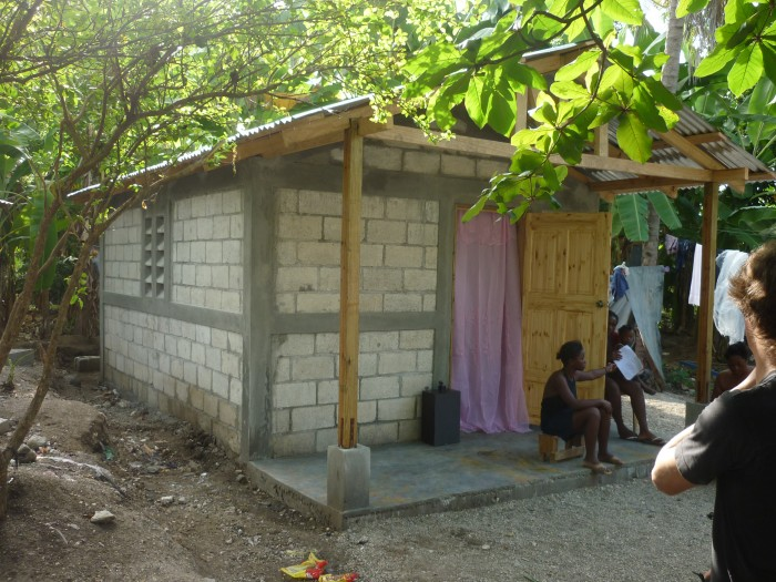 finished house in Haiti 2