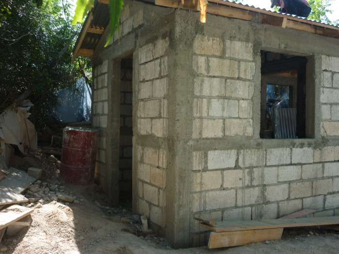 training house in Haiti a